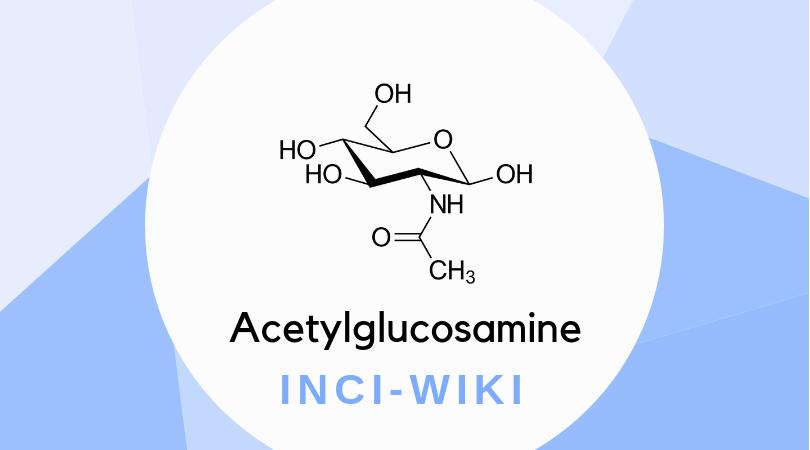 Molekülstruktur von Acetylglucosamin