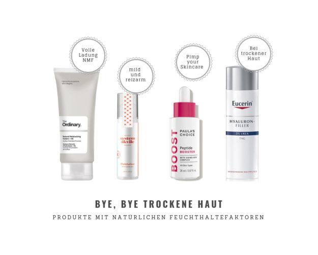Hautpflegeprodukte mit Natürlichen Feuchthaltefaktoren