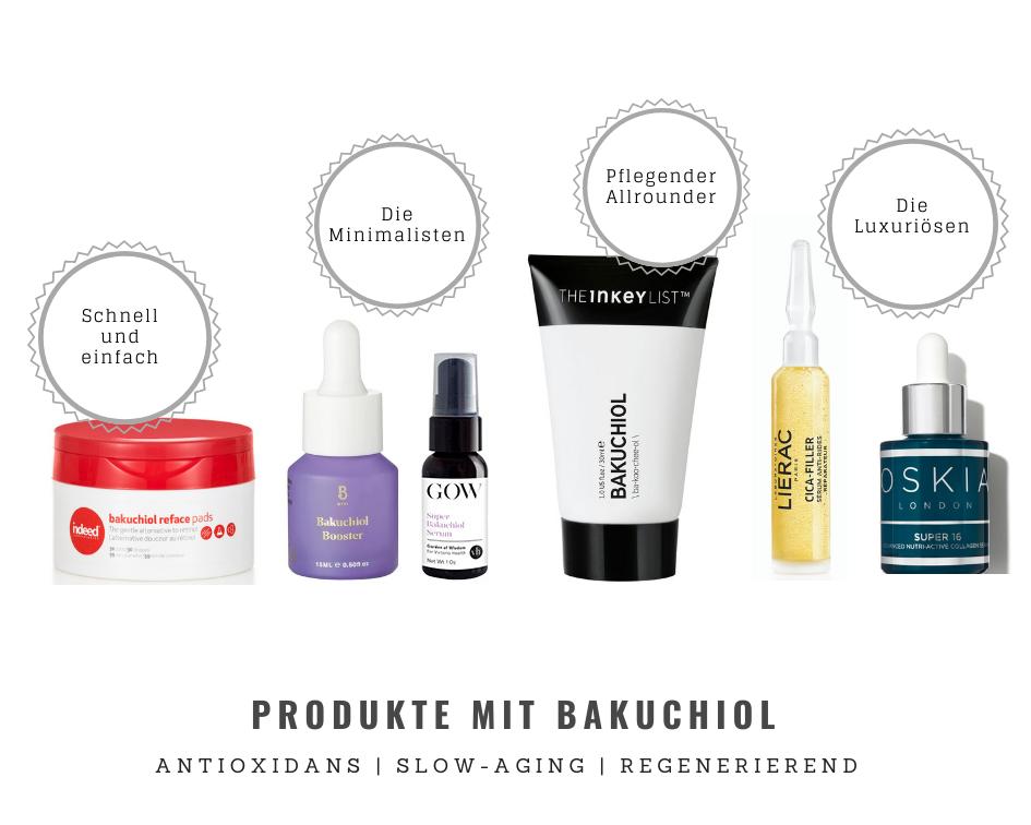 Hautpflegeprodukte mit Bakuchiol
